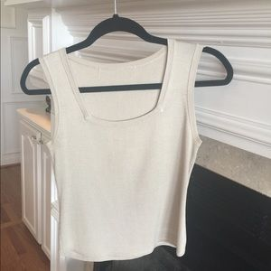 Sweaters - Silk Crop Top